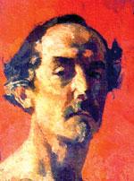 С.В. Малютин.  Автопортрет