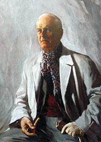 Константин Иванович Горбатов.  Автопортрет_1930-е