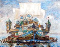 Корабль-город_1913г