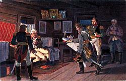 Кутузов-получает-донесение-Наполеон-оставил-Москву