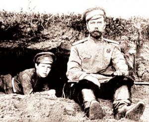 Николай II и царевич Алексий