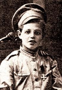1Георгиевский  кавалер  Владимир  Владимиров,  11 лет