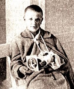 14-летний конный  разведчик  Иван Марков