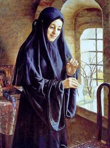 как рукодельничали прежние монахини