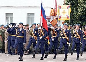 Рязанские-десантники-на-плацу